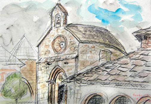 Roncesvalles Iglesia de Santiago o de los Peregrinos