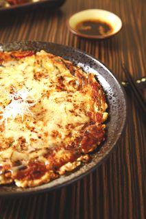 チーズ入りチジミ