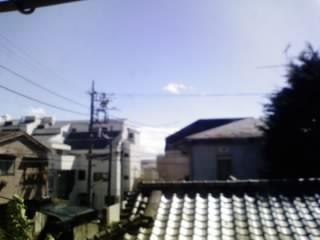 台風後の青空