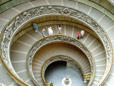 ヴァチカンの階段