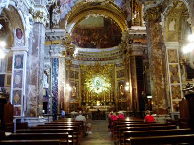 サンタ・マリア・デッラ・ヴィットリア教会