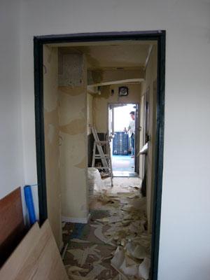 廊下~玄関方面