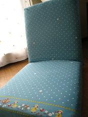 カクカクシカジカ~座椅子を買いました。 カバーは取り外しできるけど、ファスナーを開けると中はスポンジ しょんぼり