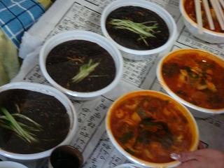 ジャジャン麺&チャンポン