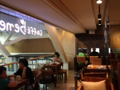 NOON SQUARE cafe bene店内
