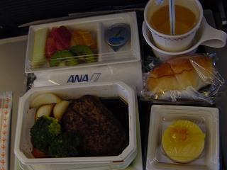 ANA機内食行き・チャイルドミール