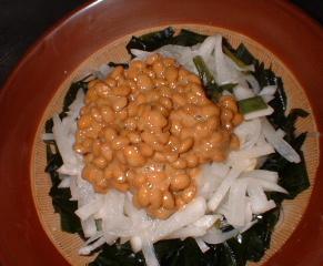大根キムチ蕎麦