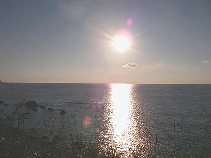 穏やかに、静かに日が沈みます.jpg