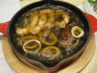 イカとえびのオイル煮