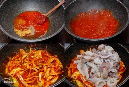 韓国料理 レシピ イカプルコギ