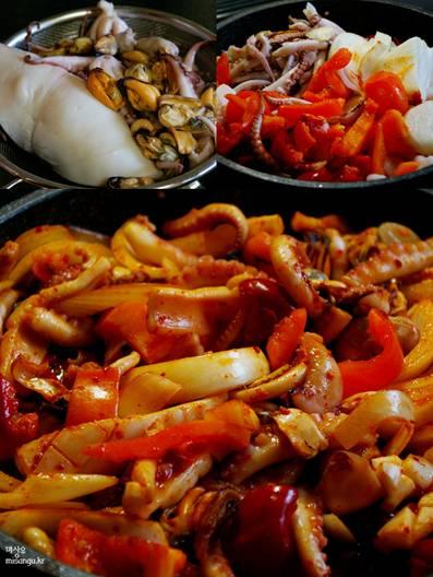韓国料理 レシピ カボチャ
