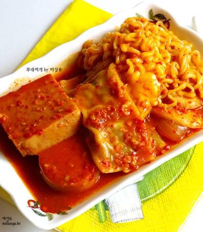 韓国料理 レシピ プデチゲ