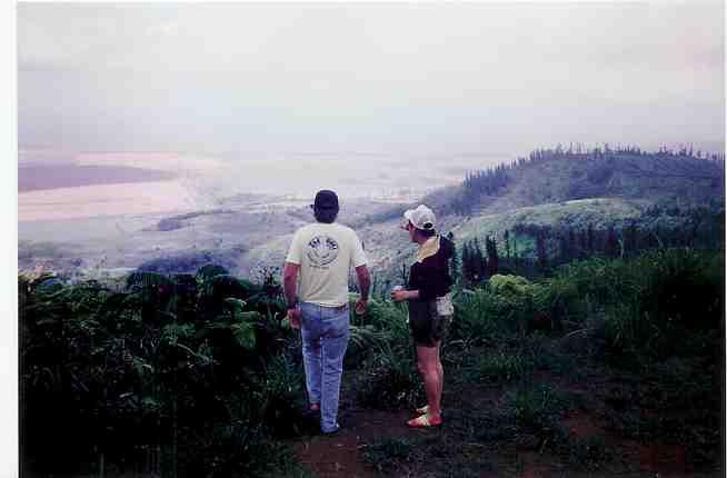 ラナイ火山から
