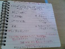 進捗ノート