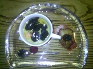 NOBU 冷やし茶碗蒸しに3大世界珍味