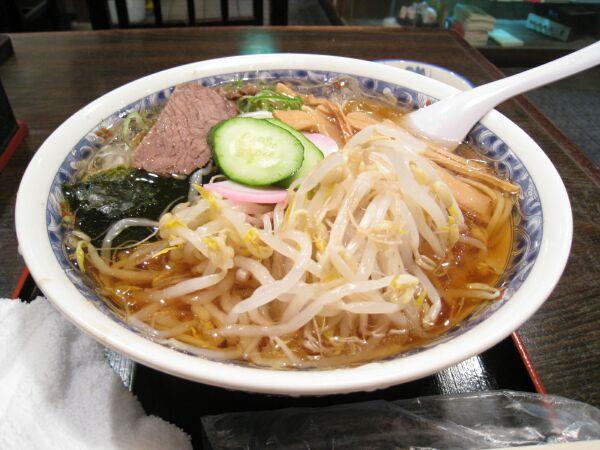 さっぱりしていて和風なスープ