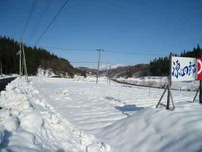 次年子 11月末ですでにこの雪!
