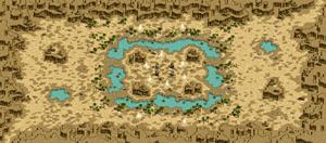 デフヒルズ 砂漠の遺跡