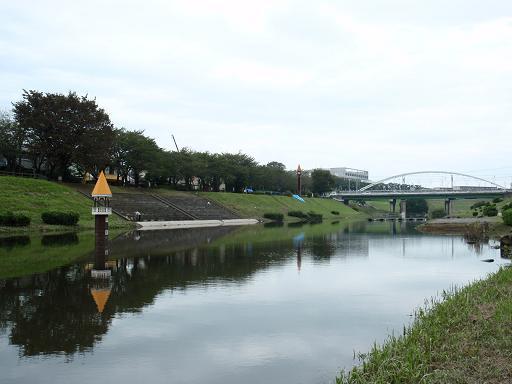 台風15号で広くなった利根運河