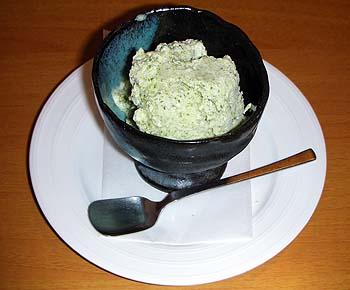 菜の花「青のりアイス」