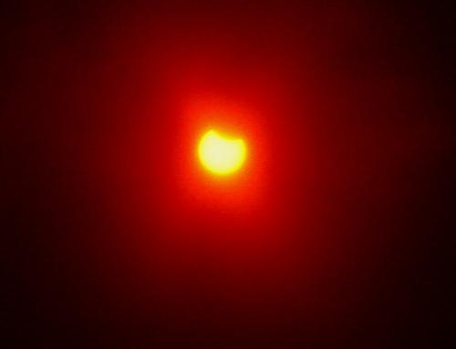 日食のスタート