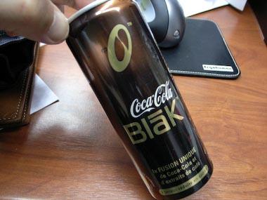 コーヒー味のコカコーラ