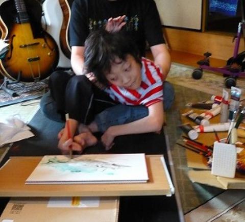 「中国の表と裏」September 12, 2007制作中