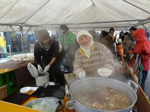 日本海寒鱈まつり2012