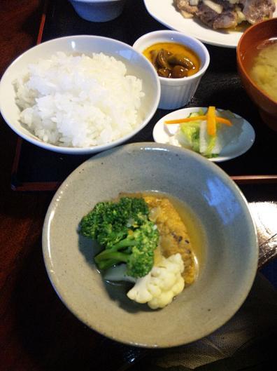 秋の昼膳2