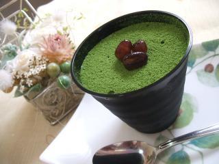 抹茶とお豆腐のティラミス