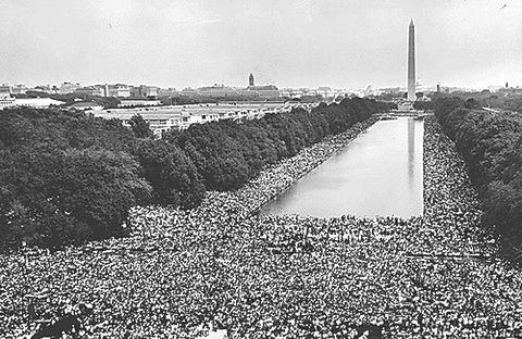 目標はミリオンの人々が集まる集会&行進だが…。