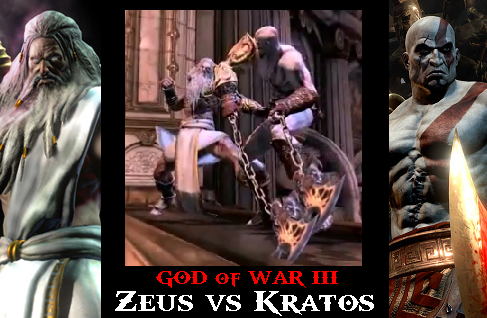 Zeus vs Kratos