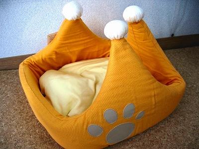 可愛いベッドでしょ?