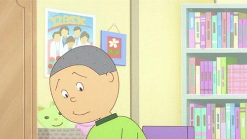 花沢さんの部屋に東方神起のポスター!