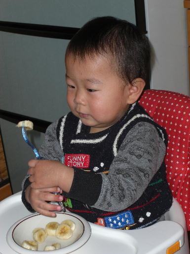 自分で食べれた~(20120131)2