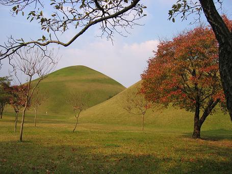 慶州の王陵