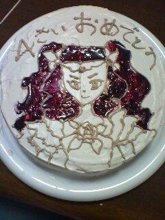 ひーちゃん4歳誕生日ケーキ