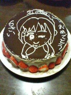 つっちゃん6歳誕生日ケーキ:プリキュア・舞