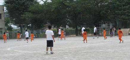 親子サッカー 4年.JPG