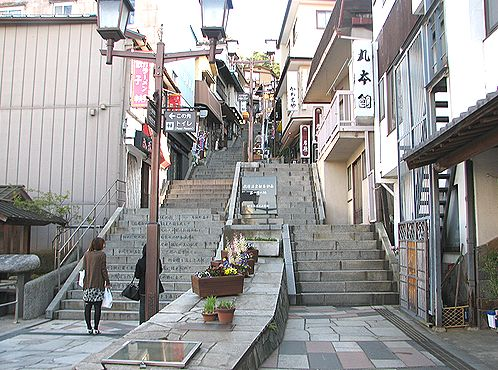 伊香保温泉 石段街