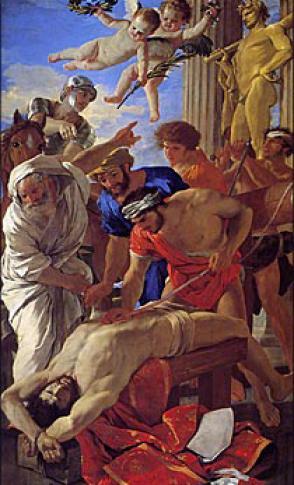 聖エラスムスの殉教 | 時の過ぎ...