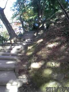 三の丸への階段 2