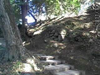 三の丸への階段 3
