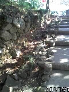 三の丸への階段 4