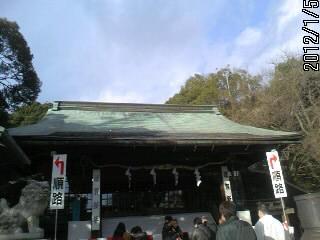 二荒山神社 拝殿1