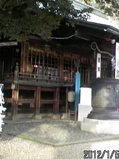 二荒山神社 拝殿2