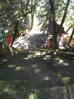 引局跡の階段1