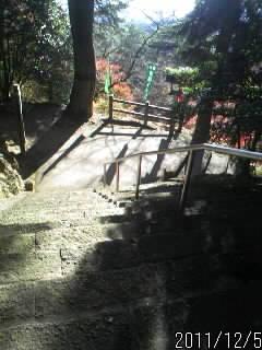 引局跡からの階段2