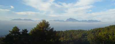 八ケ岳から富士見方面