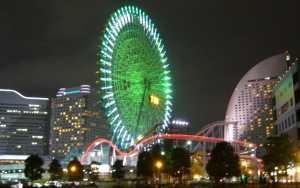 横浜みなとみらい 横浜コスモワールド遊園地